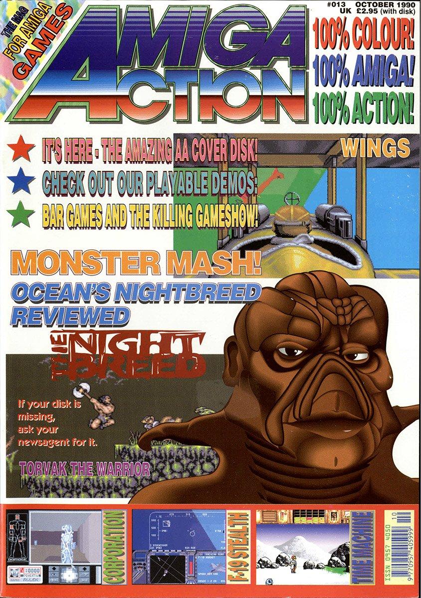 Amiga Action 013 (October 1990)