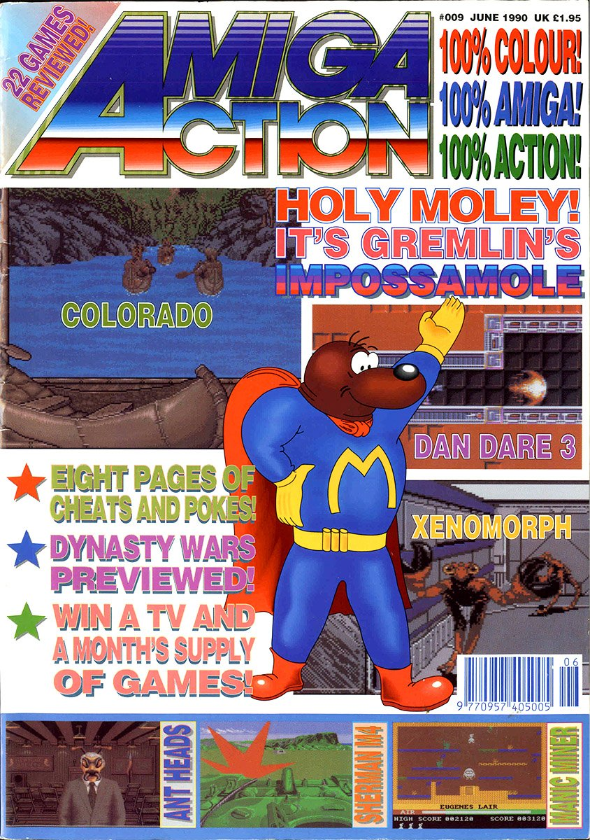 Amiga Action 009 (June 1990)