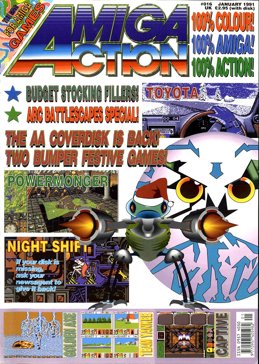 Amiga Action 016 (January 1991)