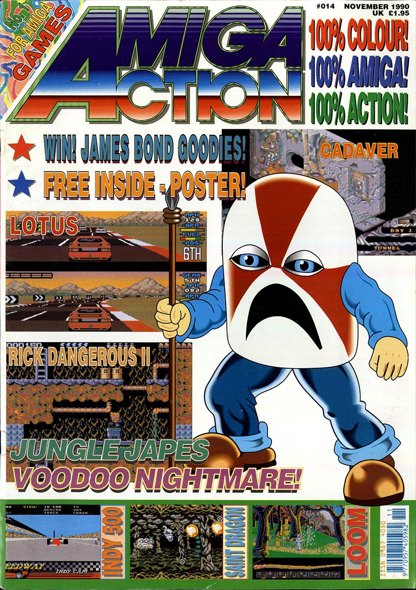 Amiga Action 014 (November 1990)