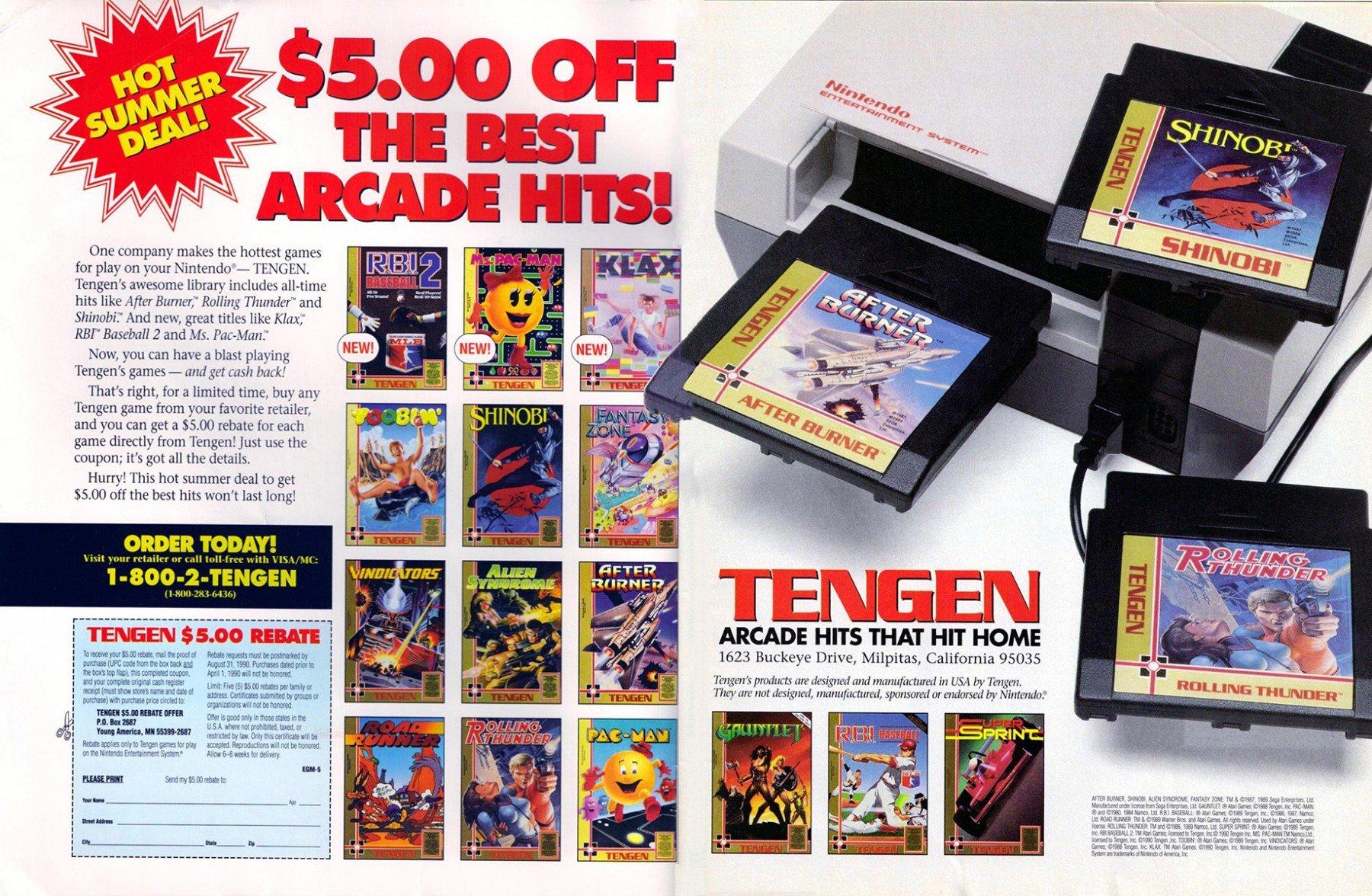 Tengen multi-ad (1990)