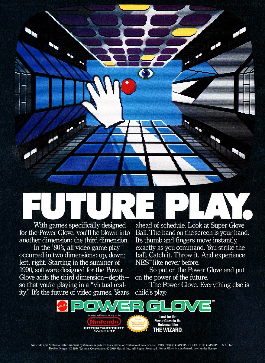 Power Glove/Super Glove Ball (1990)