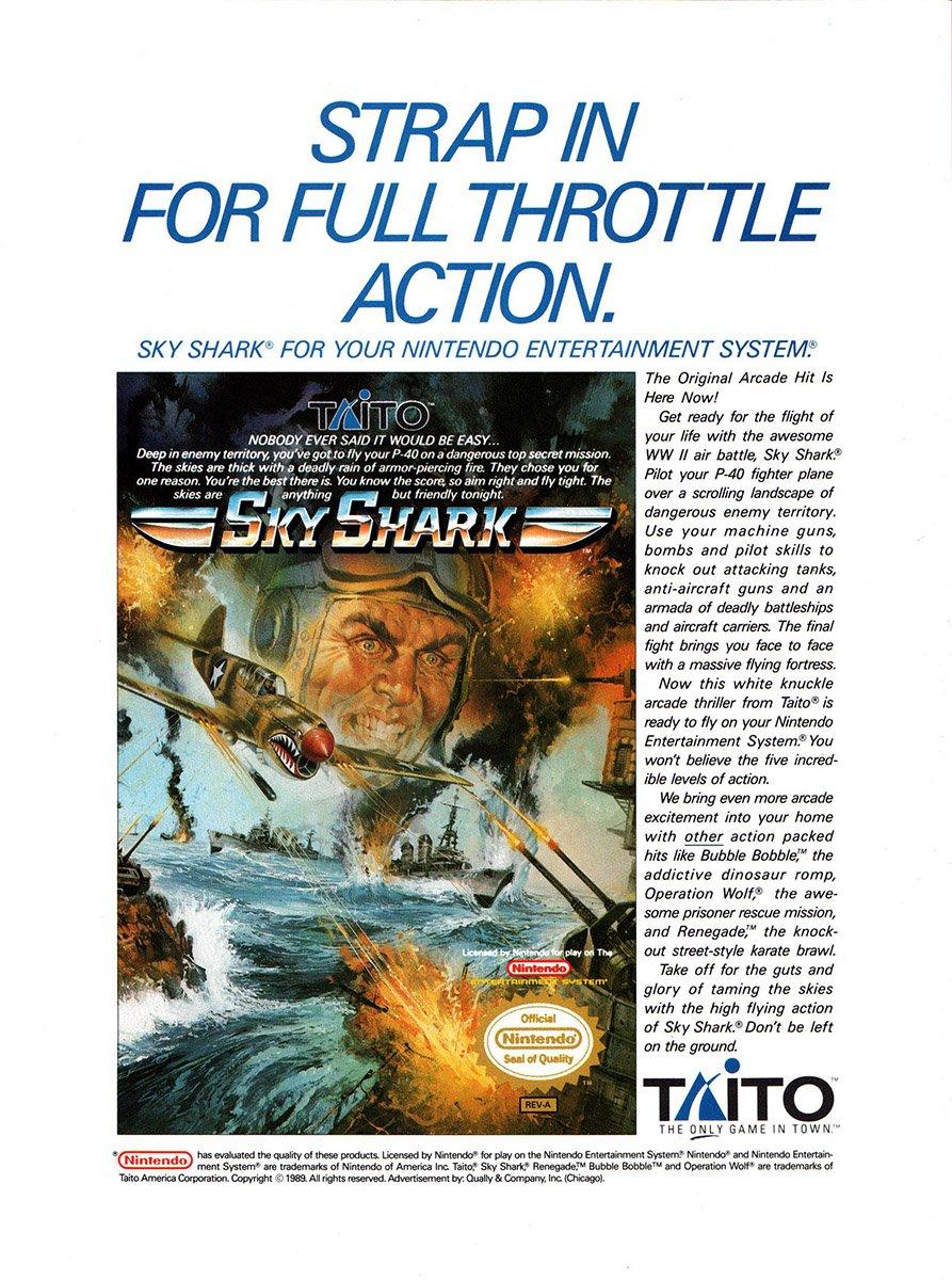 Sky Shark (1989)