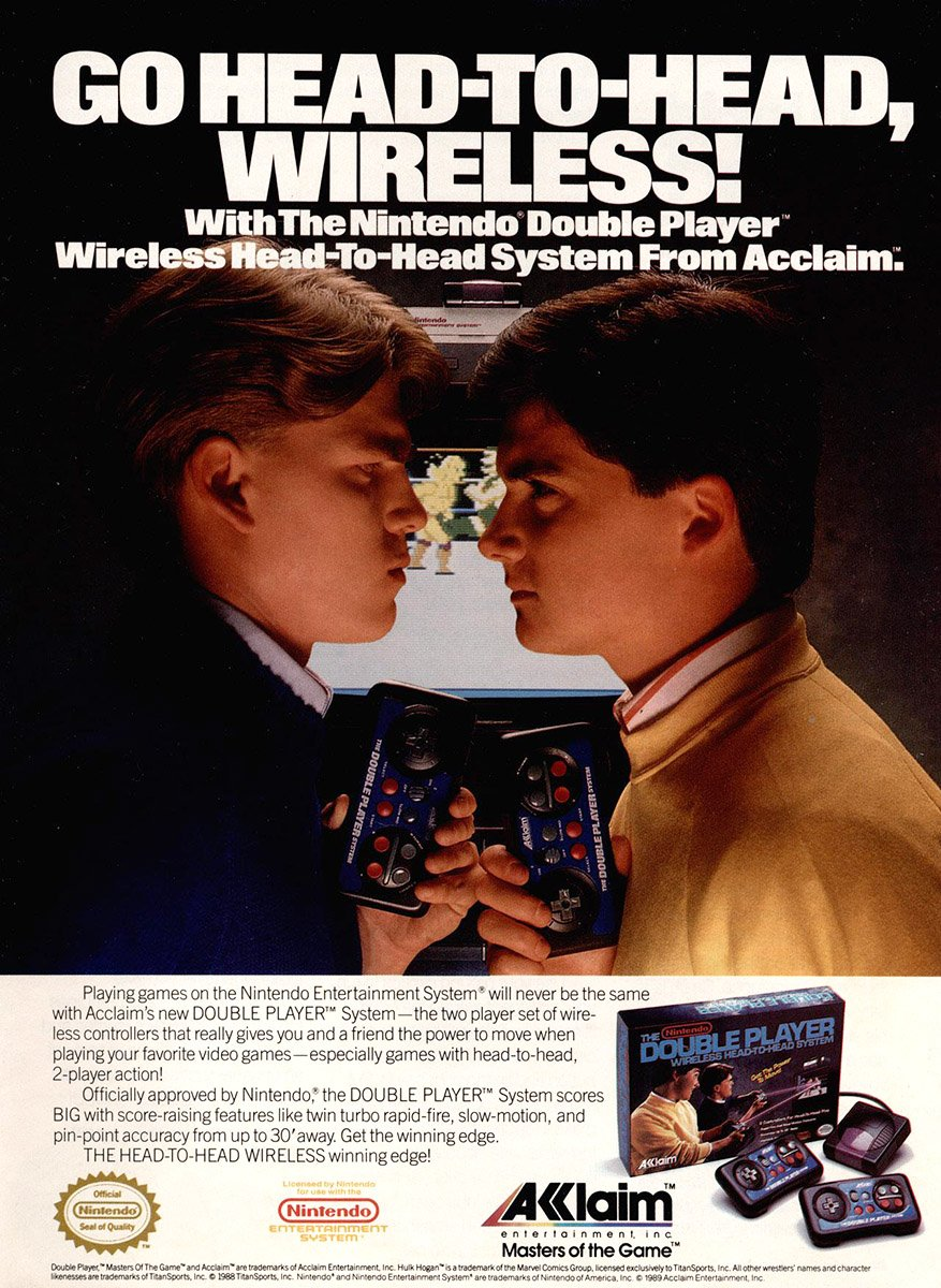 Double Player wireless system (1990)