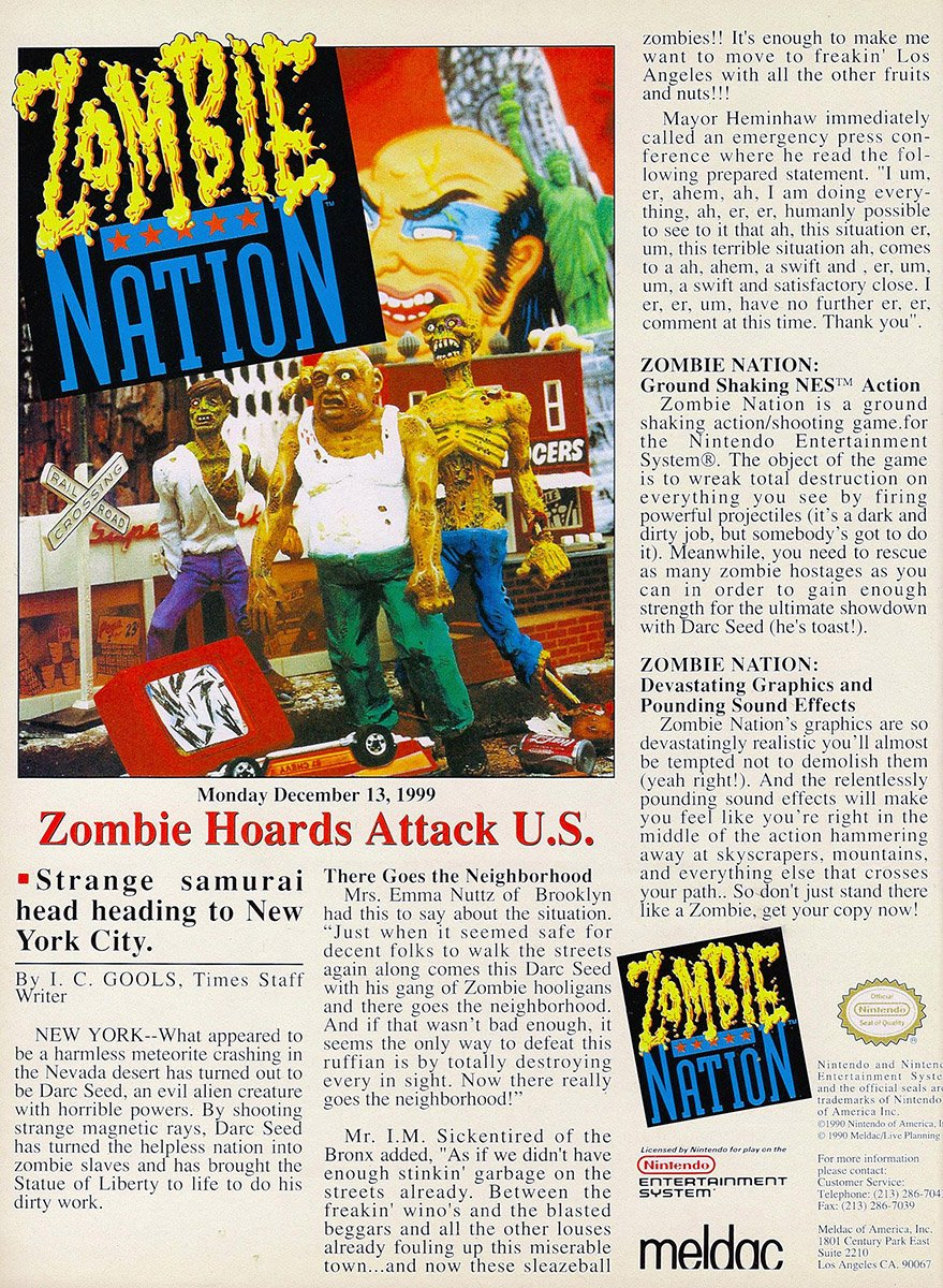 Zombie Nation (ver.1)
