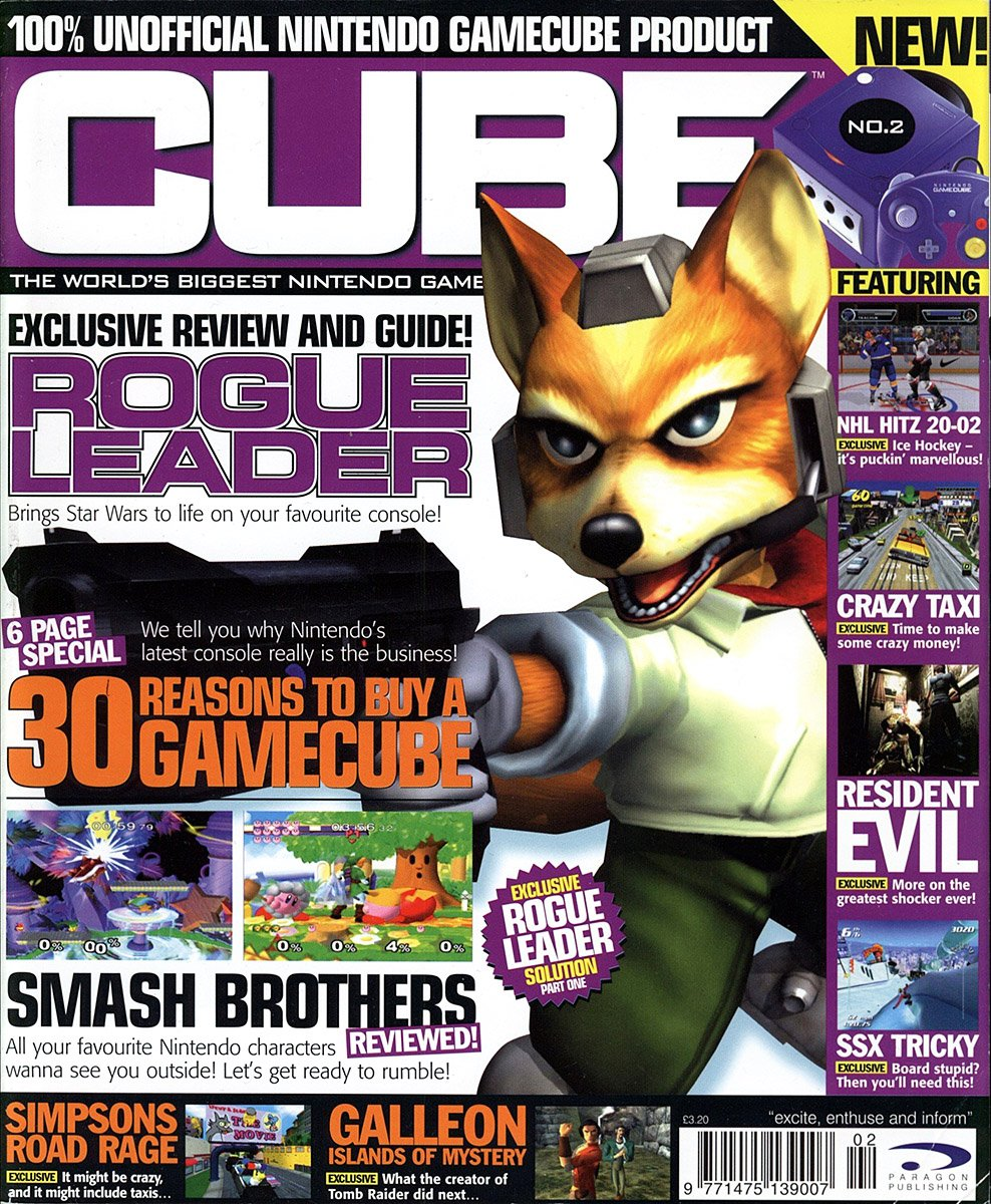 Cube Issue 02 (February 2002)