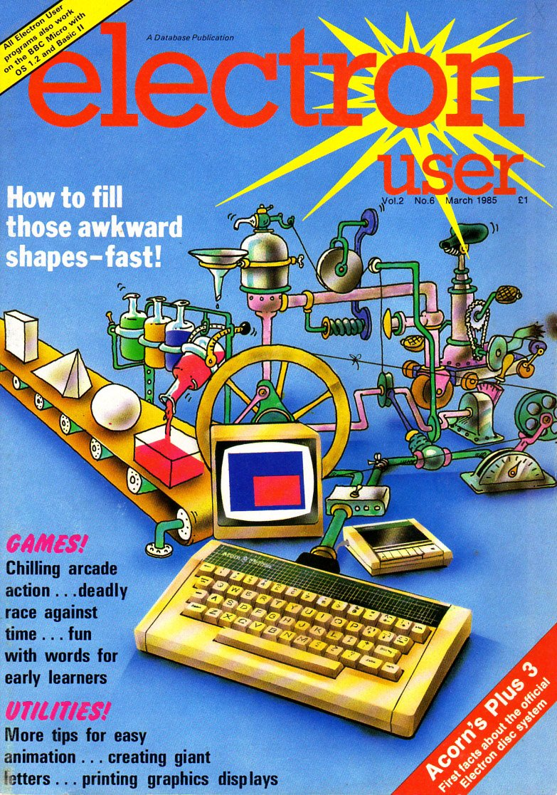 Electron User Issue 018 March 1985