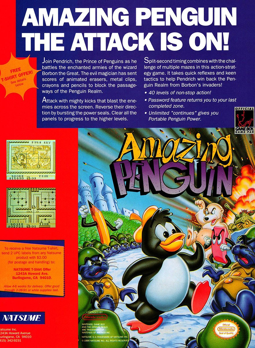 Amazing Penguin (1990)