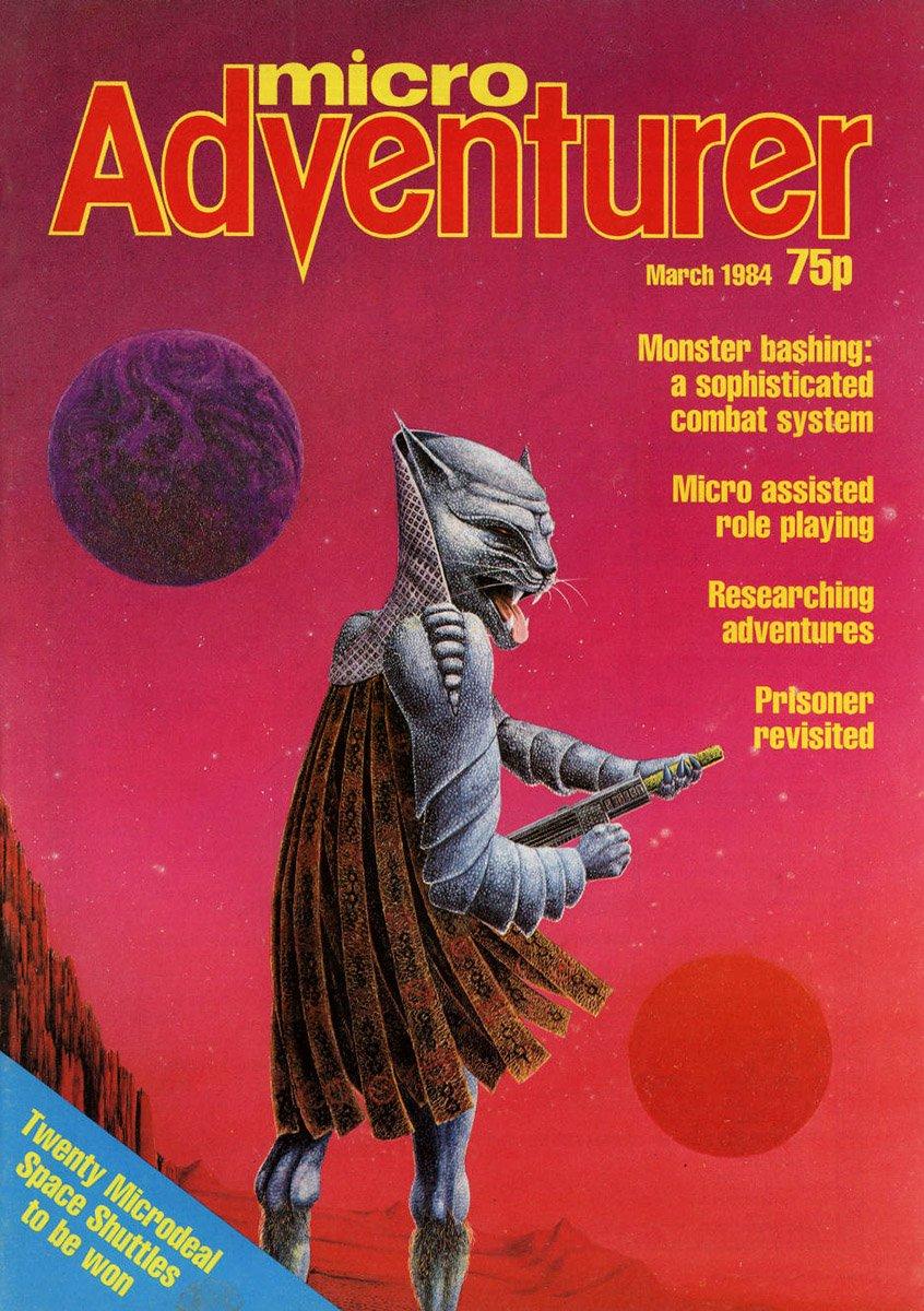 Micro Adventurer Issue 05 March 1984