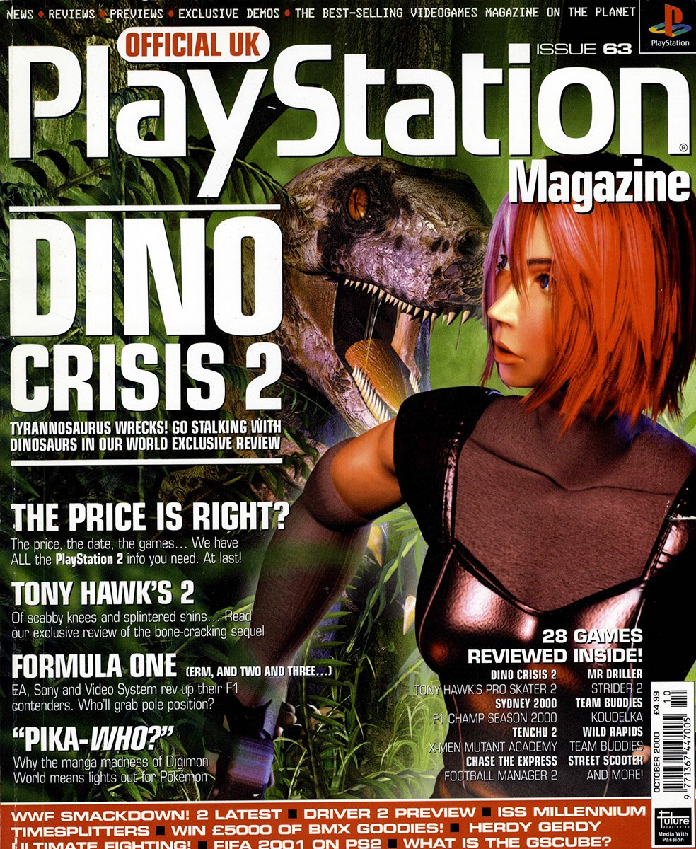 Official UK PlayStation Magazine Issue 063 (October 2000)
