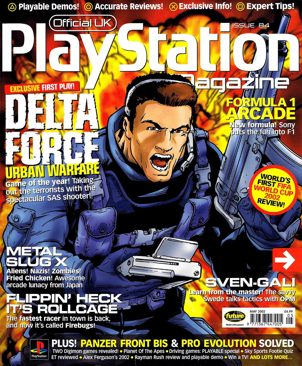 Official UK PlayStation Magazine Issue 084 (May 2002)