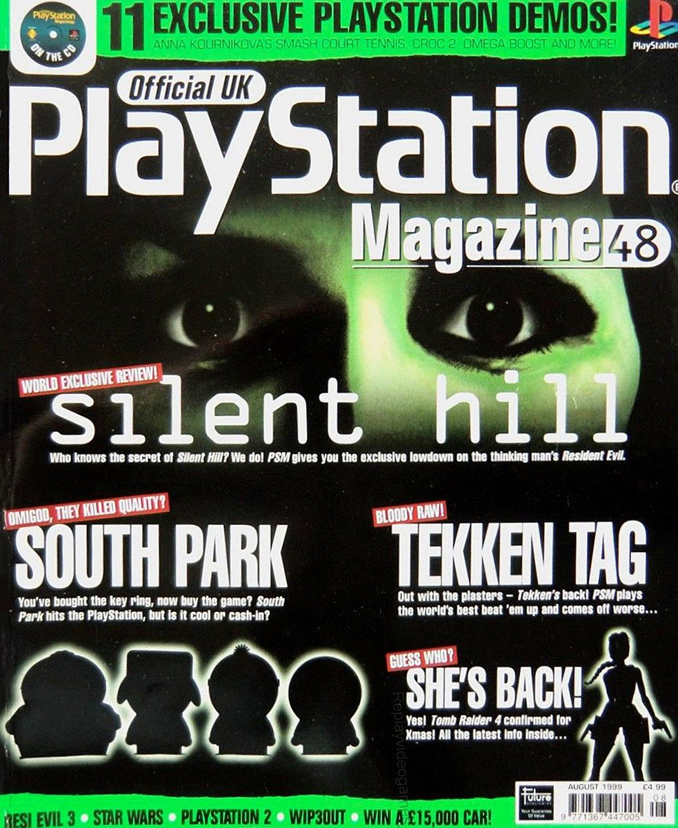 Official UK PlayStation Magazine Issue 048 (August 1999)