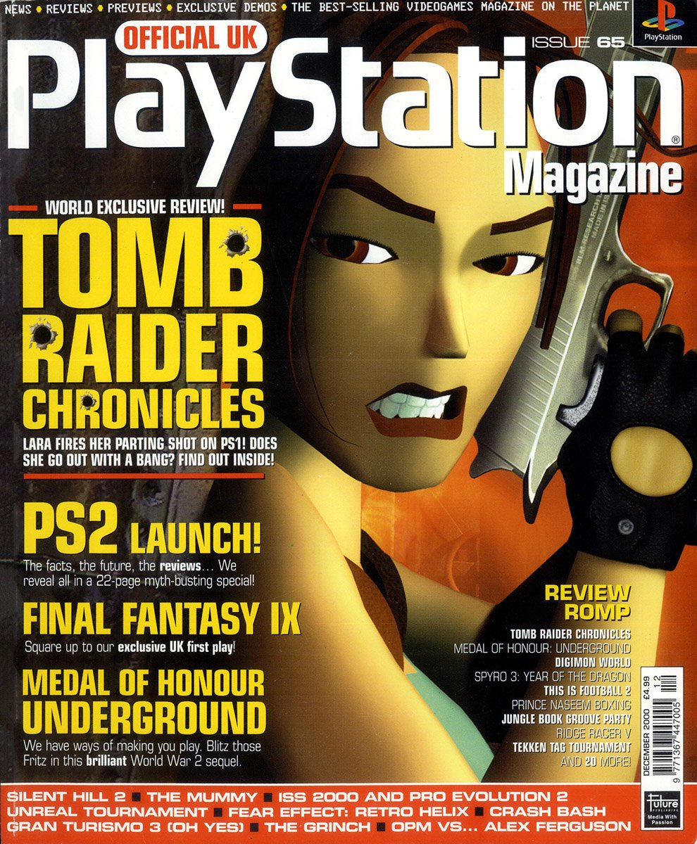Official UK PlayStation Magazine Issue 065 (December 2000)