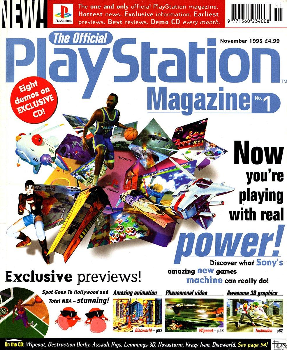 Official UK PlayStation Magazine Issue 001 (November 1995)