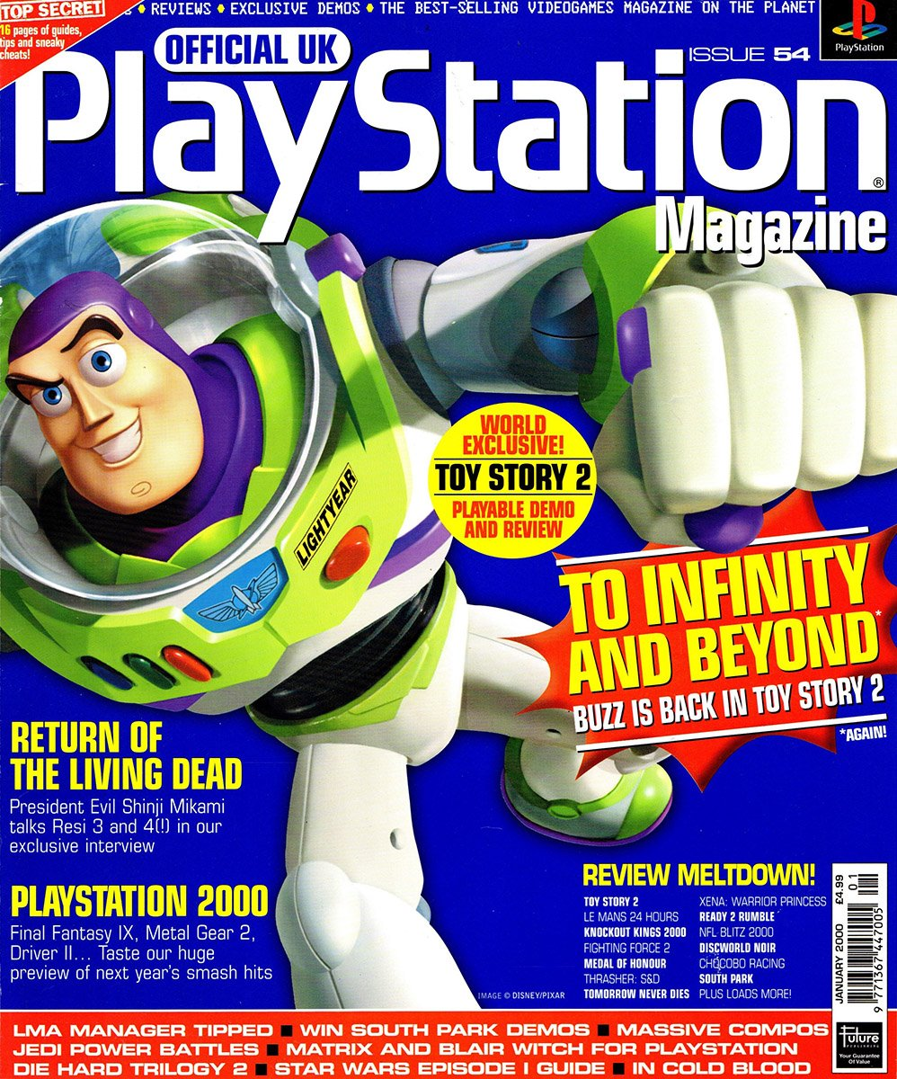 Official UK PlayStation Magazine Issue 054 (January 2000)