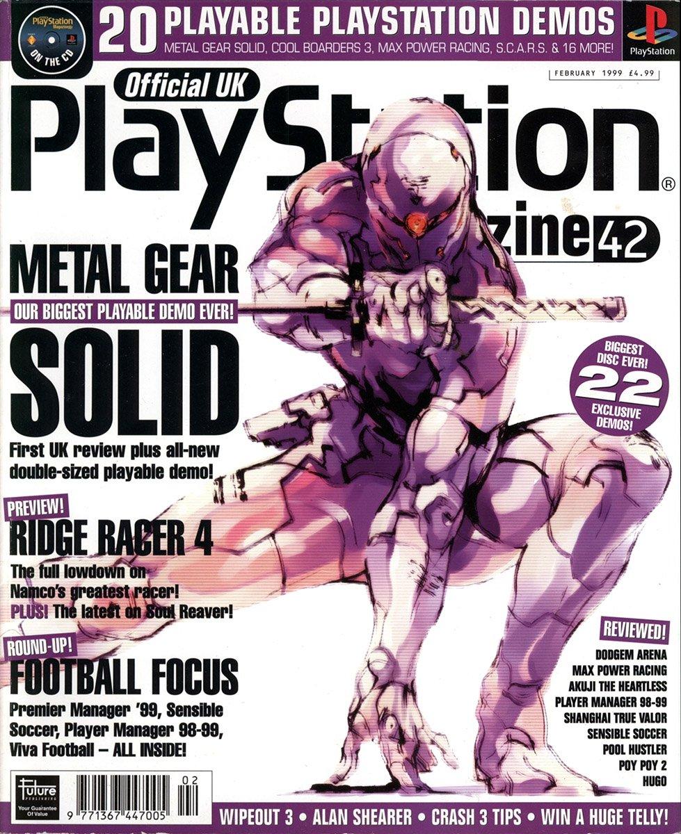 Official UK PlayStation Magazine Issue 042 (February 1999)