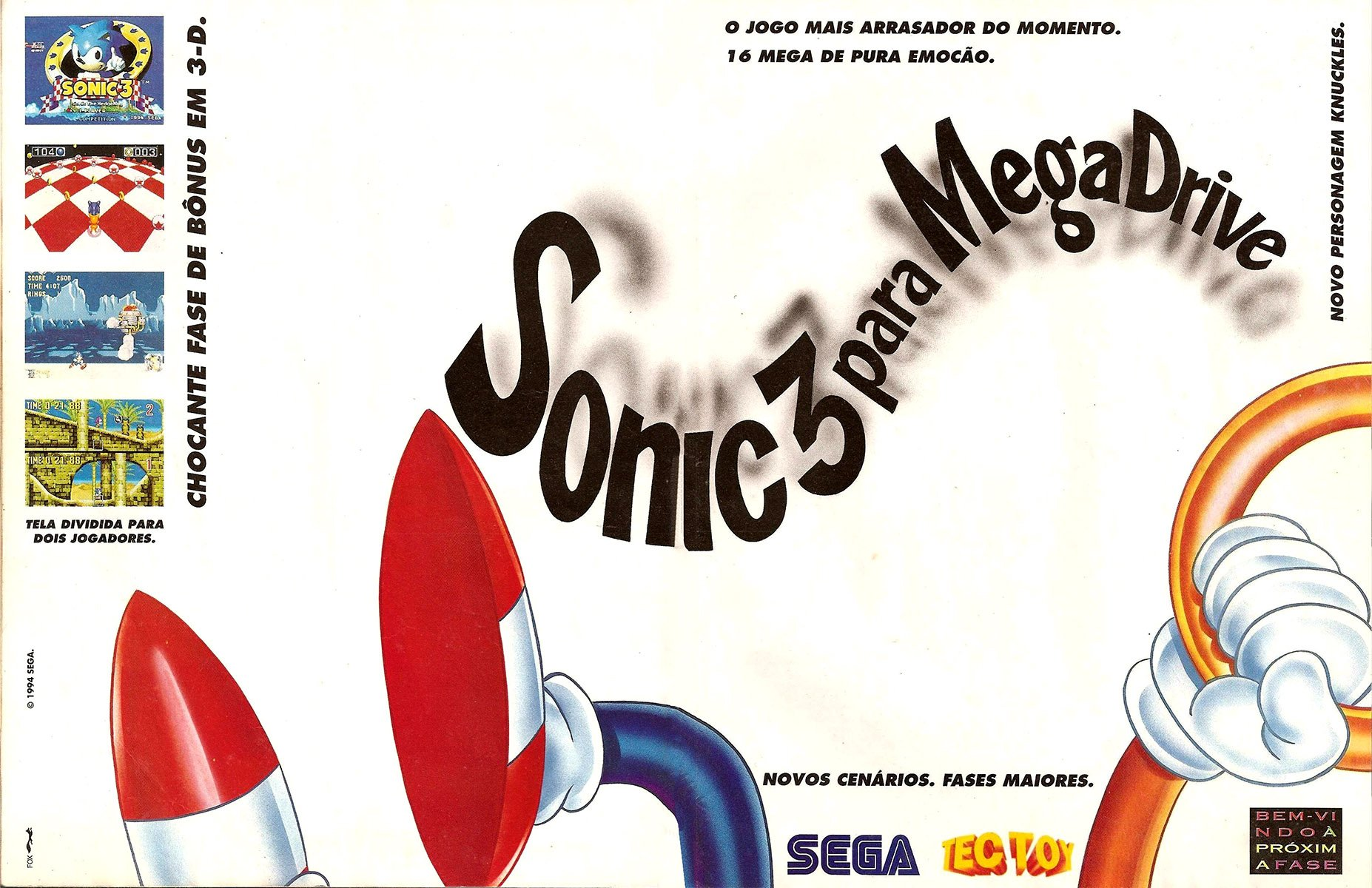 Sonic the Hedgehog 3 (Brazil)