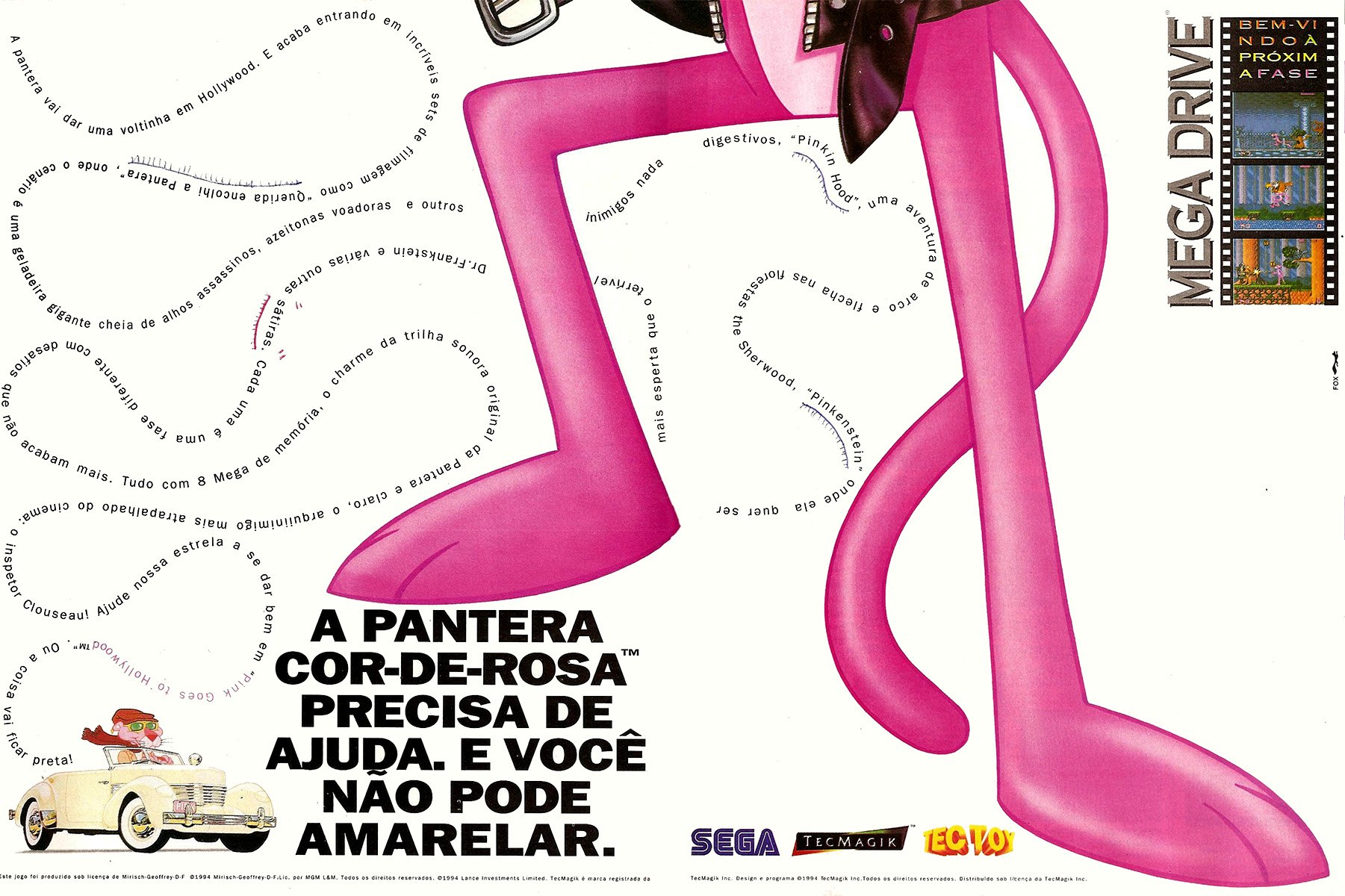 Pink Goes To Hollywood (Brazil)