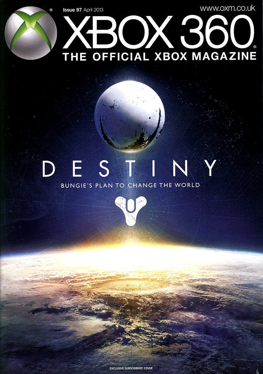 XBOX 360 The Official Magazine Issue 097 April 2013 subscriber's cover