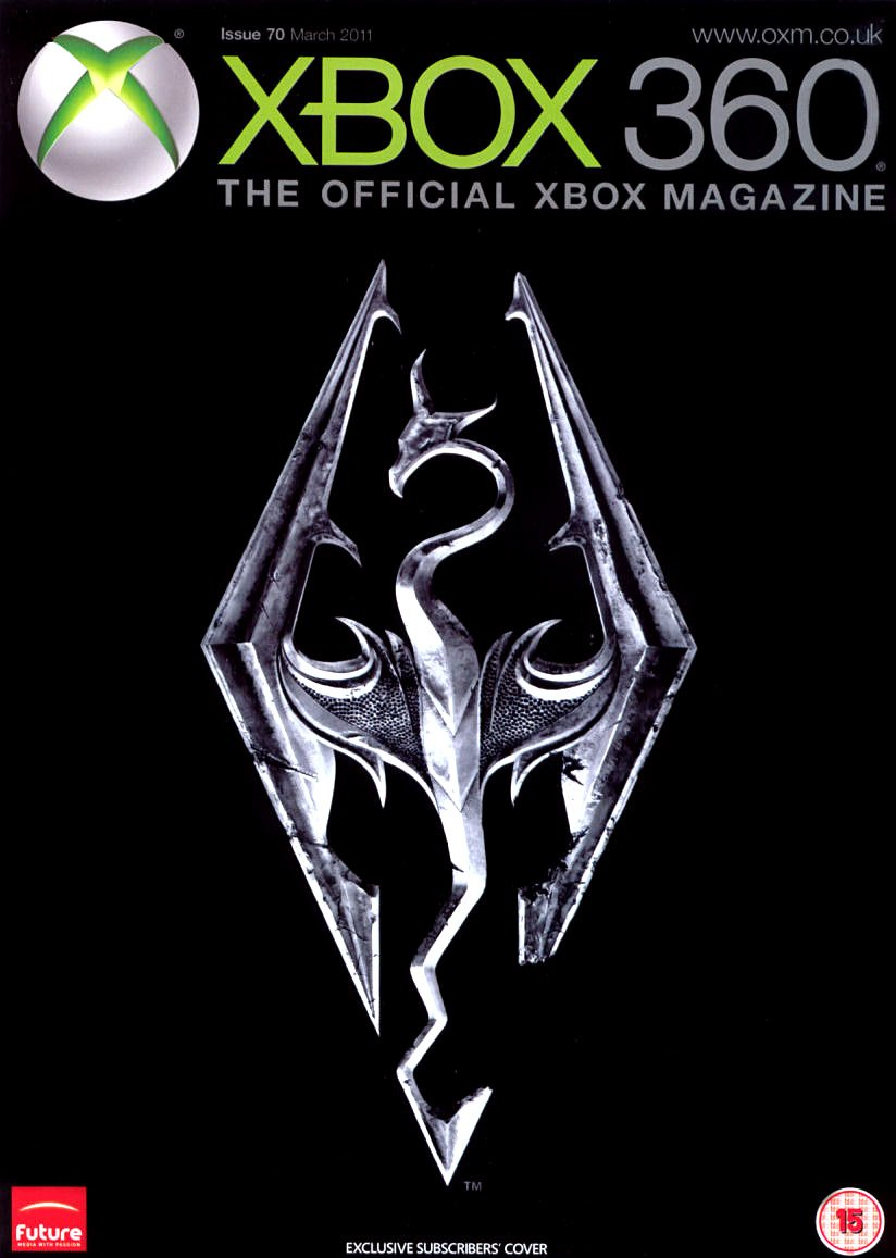 XBOX 360 The Official Magazine Issue 070 March 2011 subscriber's cover