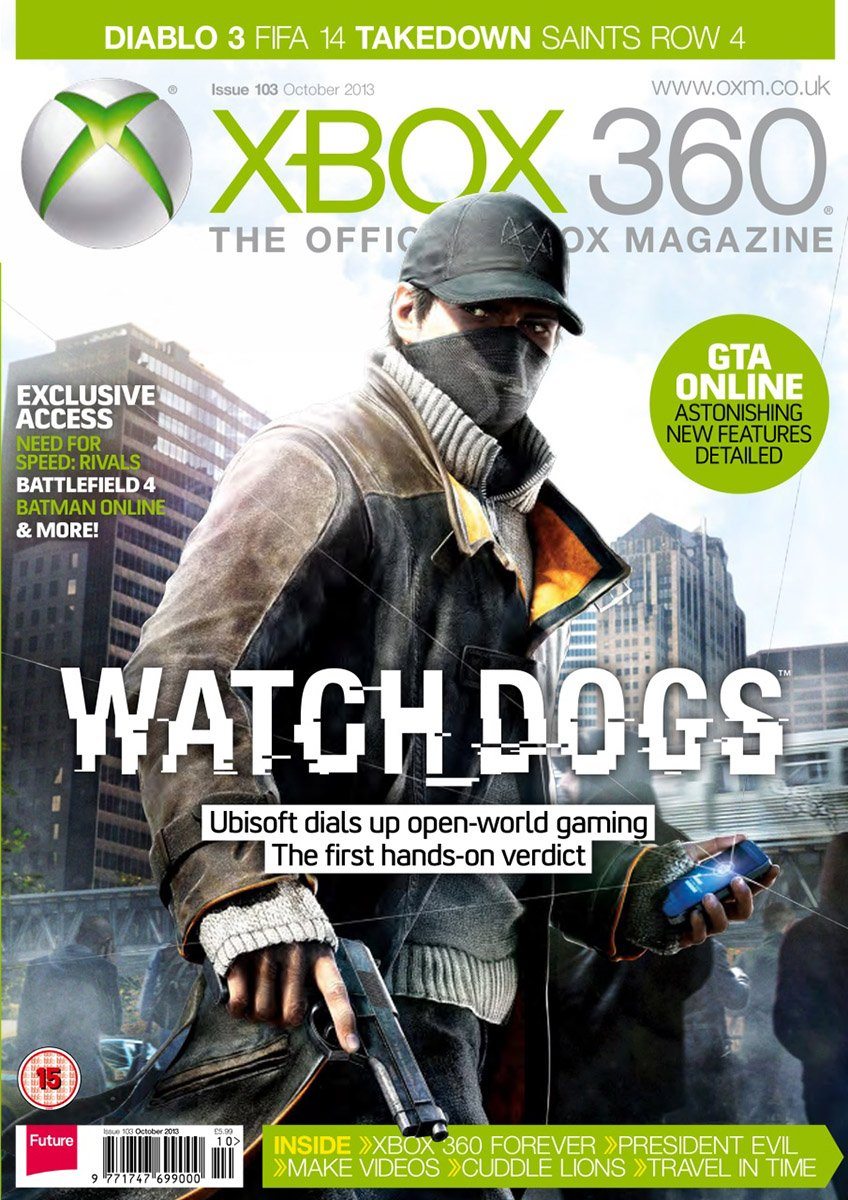 XBOX 360 The Official Magazine Issue 103 October 2013