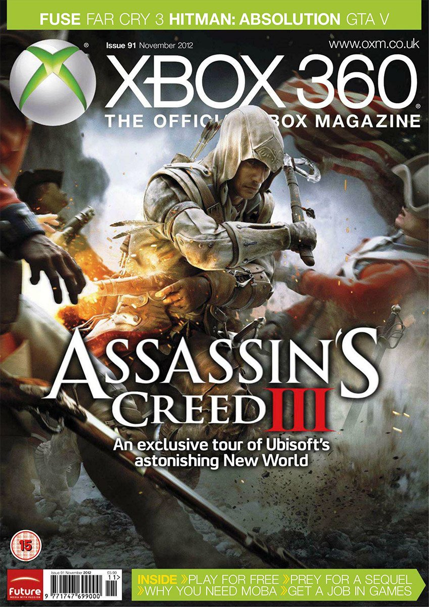 XBOX 360 The Official Magazine Issue 091 November 2012