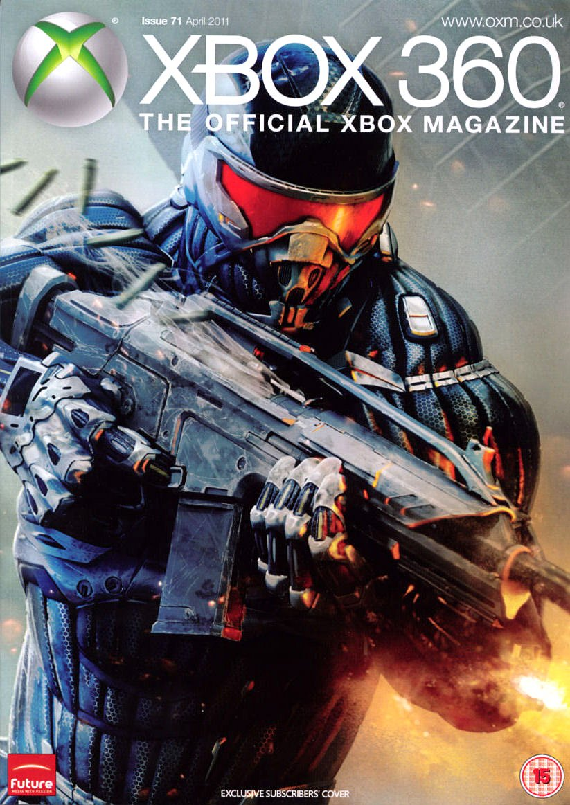 XBOX 360 The Official Magazine Issue 071 April 2011 subscriber's cover