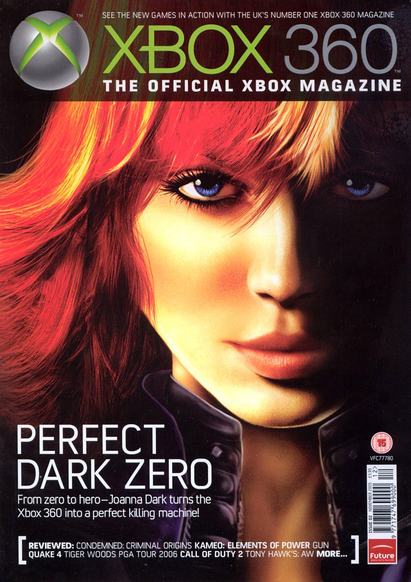 XBOX 360 The Official Magazine Issue 002 November 2005