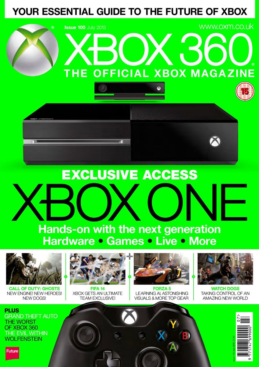 XBOX 360 The Official Magazine Issue 100 July 2013