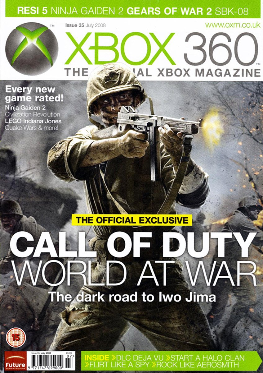 XBOX 360 The Official Magazine Issue 035 July 2008