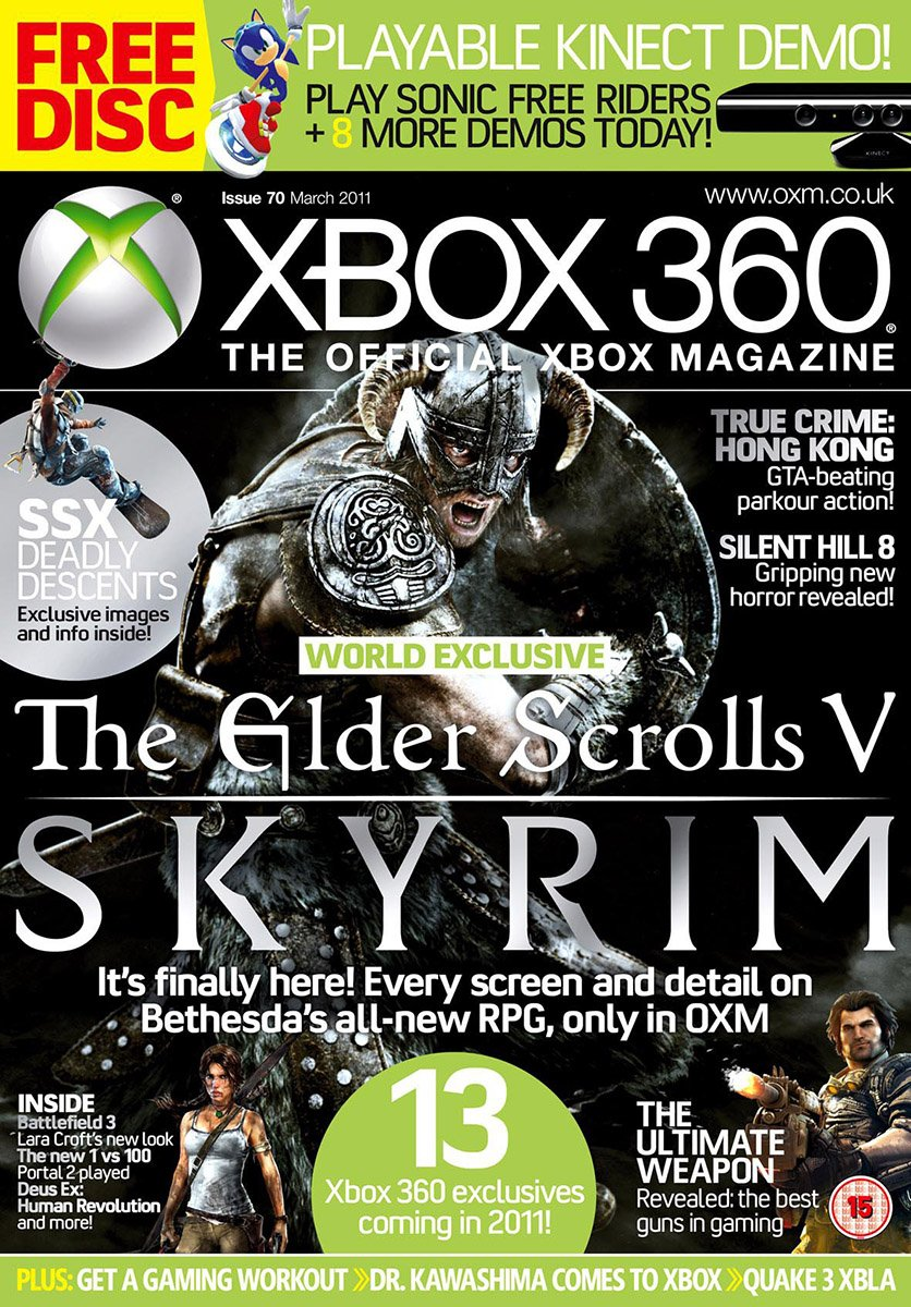 XBOX 360 The Official Magazine Issue 070 March 2011