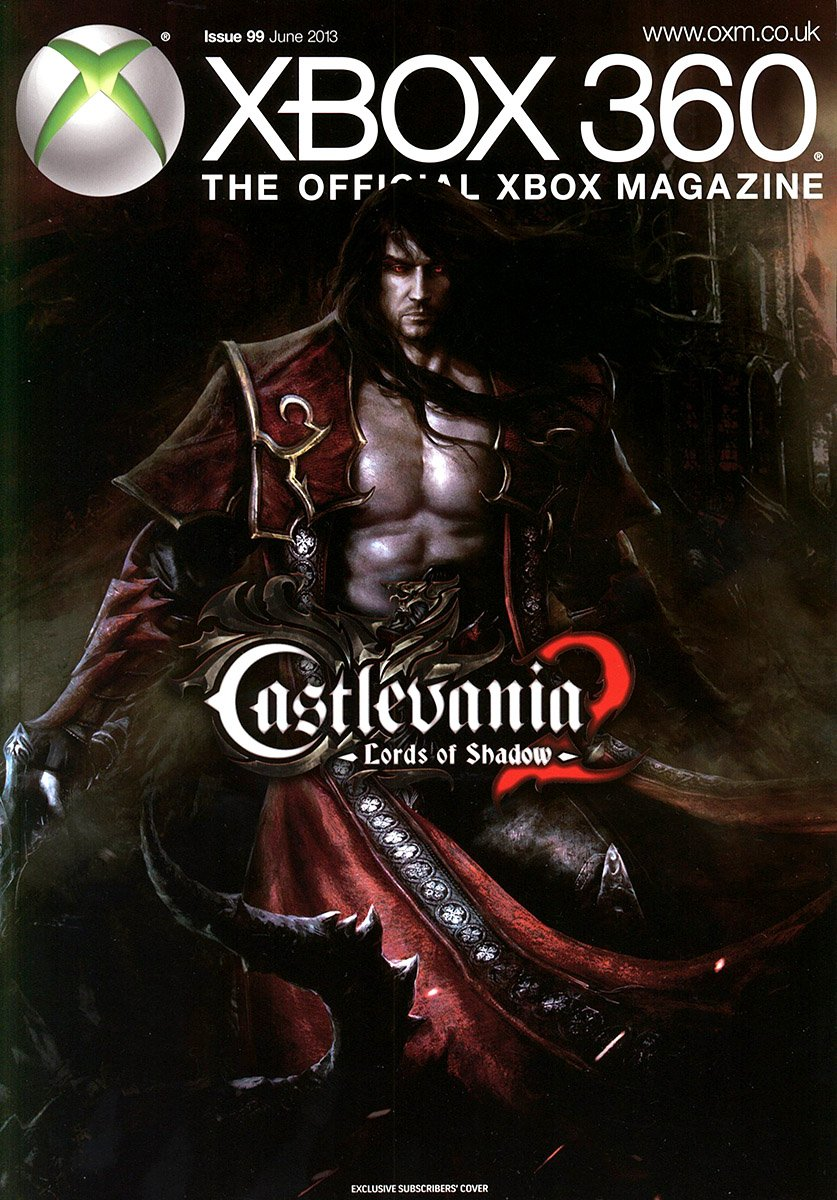 XBOX 360 The Official Magazine Issue 099 June 2013 subscriber's cover