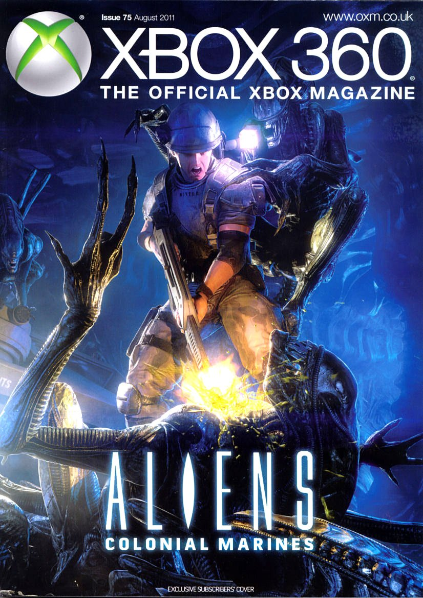 XBOX 360 The Official Magazine Issue 075 August 2011 subscriber's cover