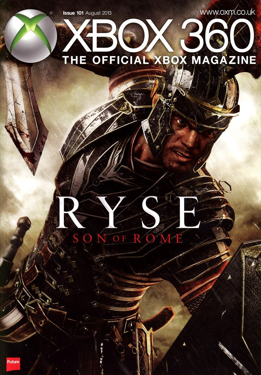 XBOX 360 The Official Magazine Issue 101 August 2013 subscriber's cover
