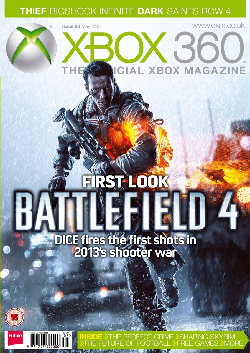 XBOX 360 The Official Magazine Issue 098 May 2013