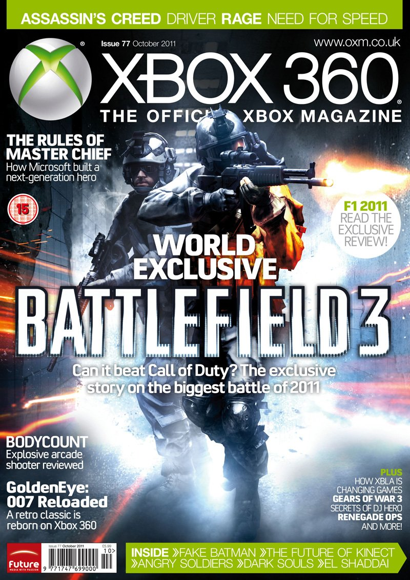 XBOX 360 The Official Magazine Issue 077 October 2011