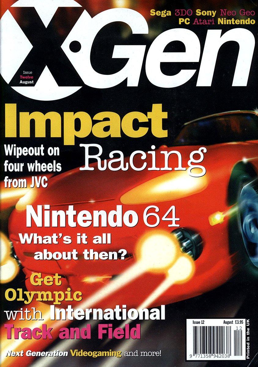 X-Gen Issue 12 August 1996