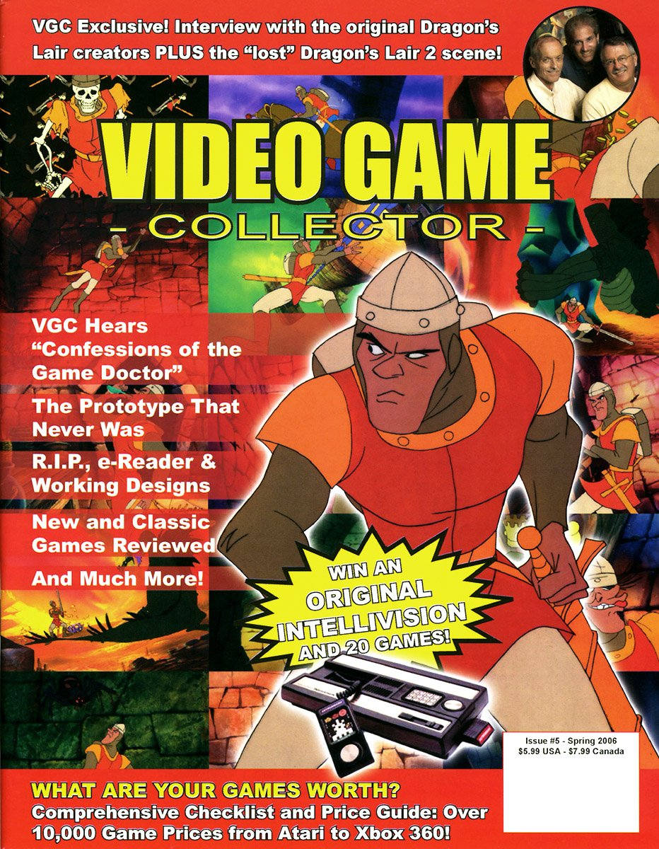 Video Game Collector Issue 05 Spring 2006