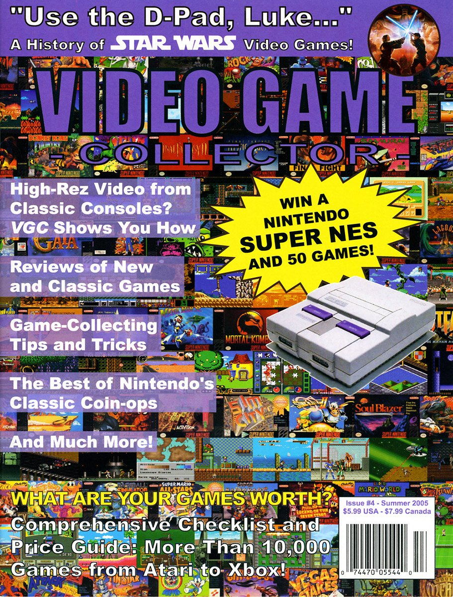Video Game Collector Issue 04 Summer 2005