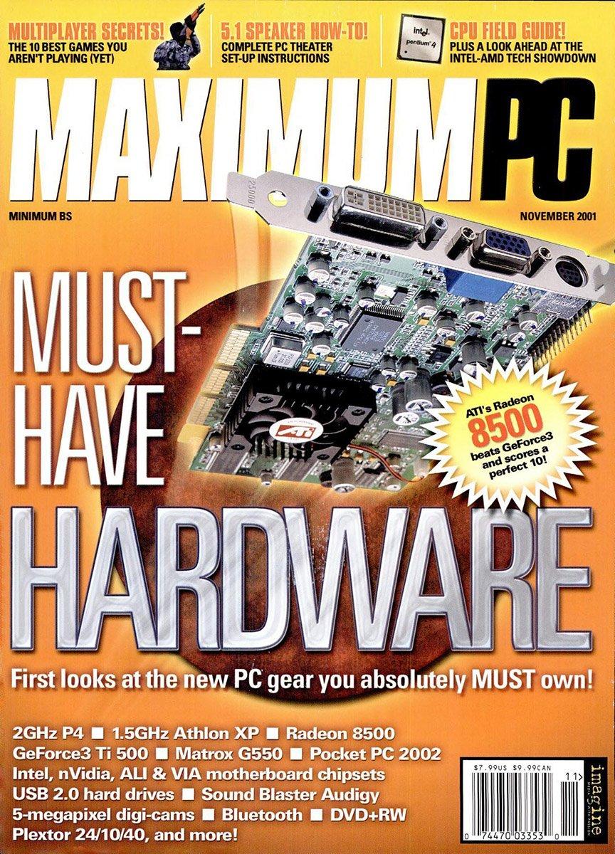 Maximum PC Issue 039 November 2001