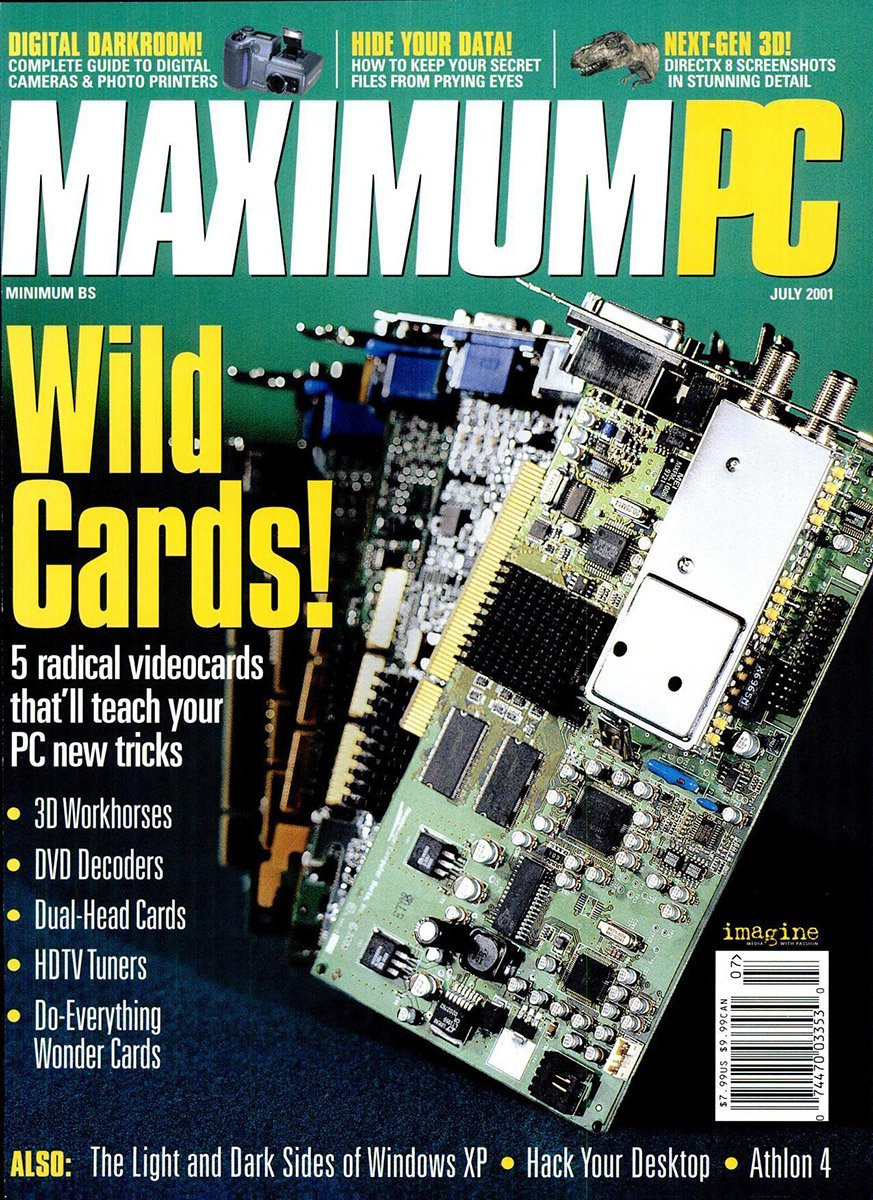 Maximum PC Issue 035 July 2001