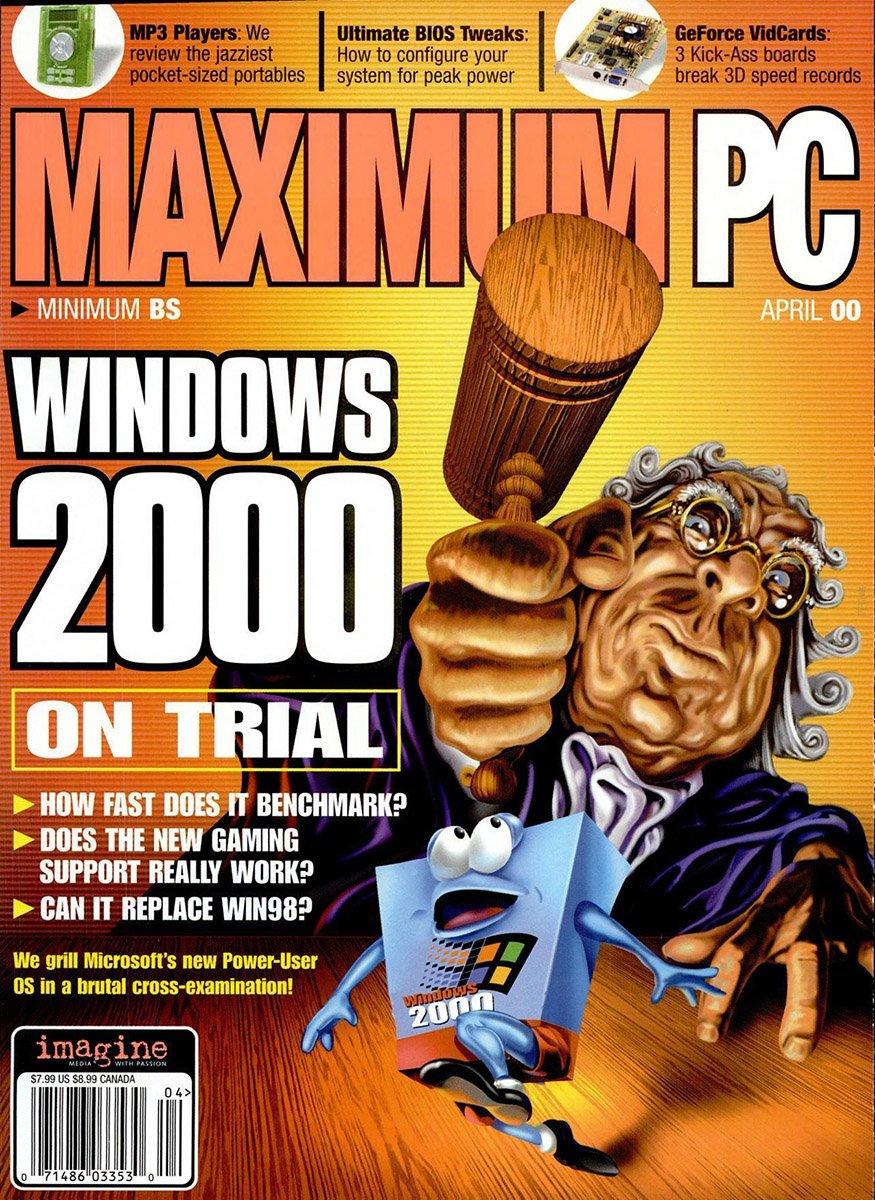 Maximum PC Issue 020 April 2000