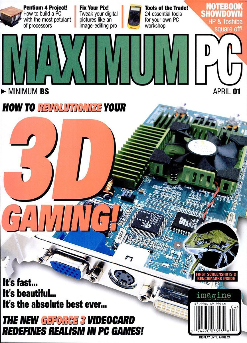 Maximum PC Issue 032 April 2001