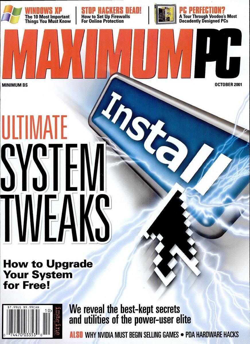 Maximum PC Issue 038 October 2001