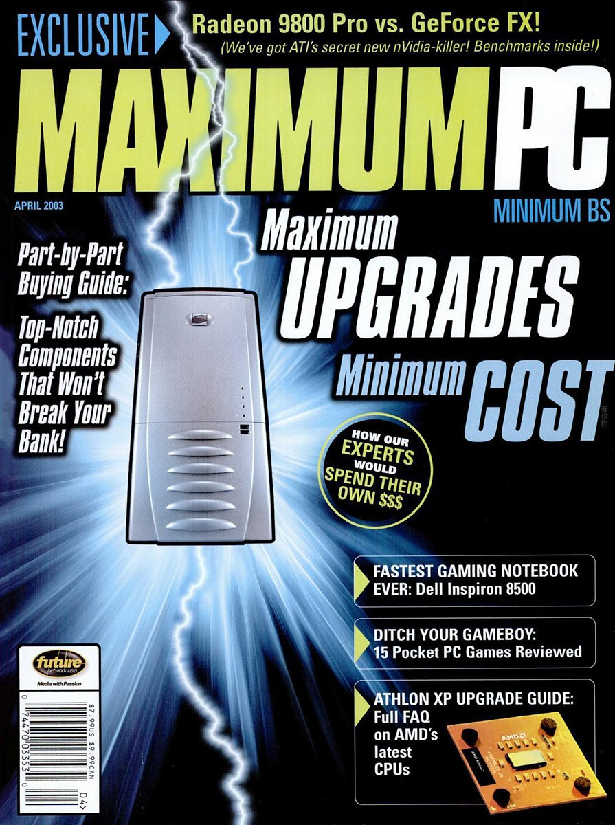 Maximum PC Issue 056 April 2003