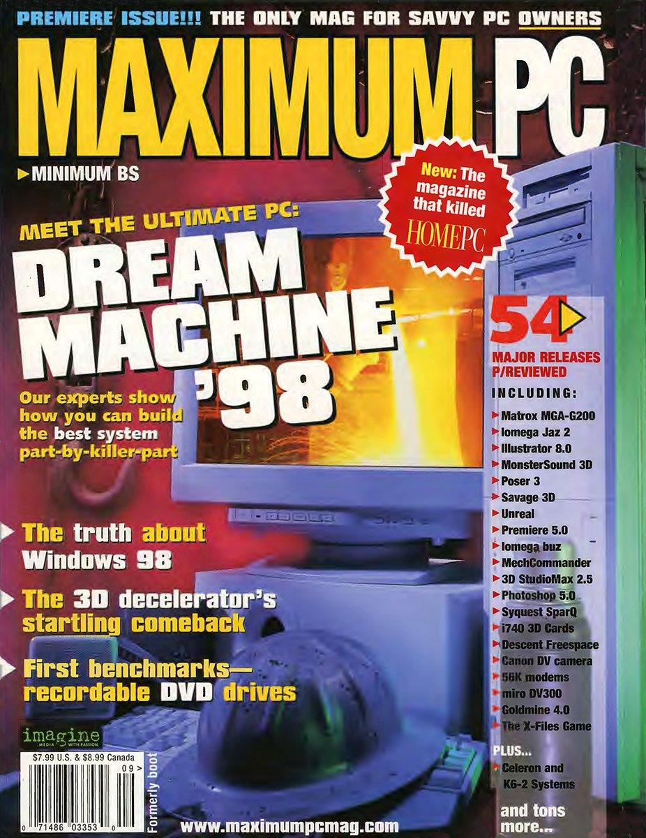 Maximum PC Issue 001 September 1998