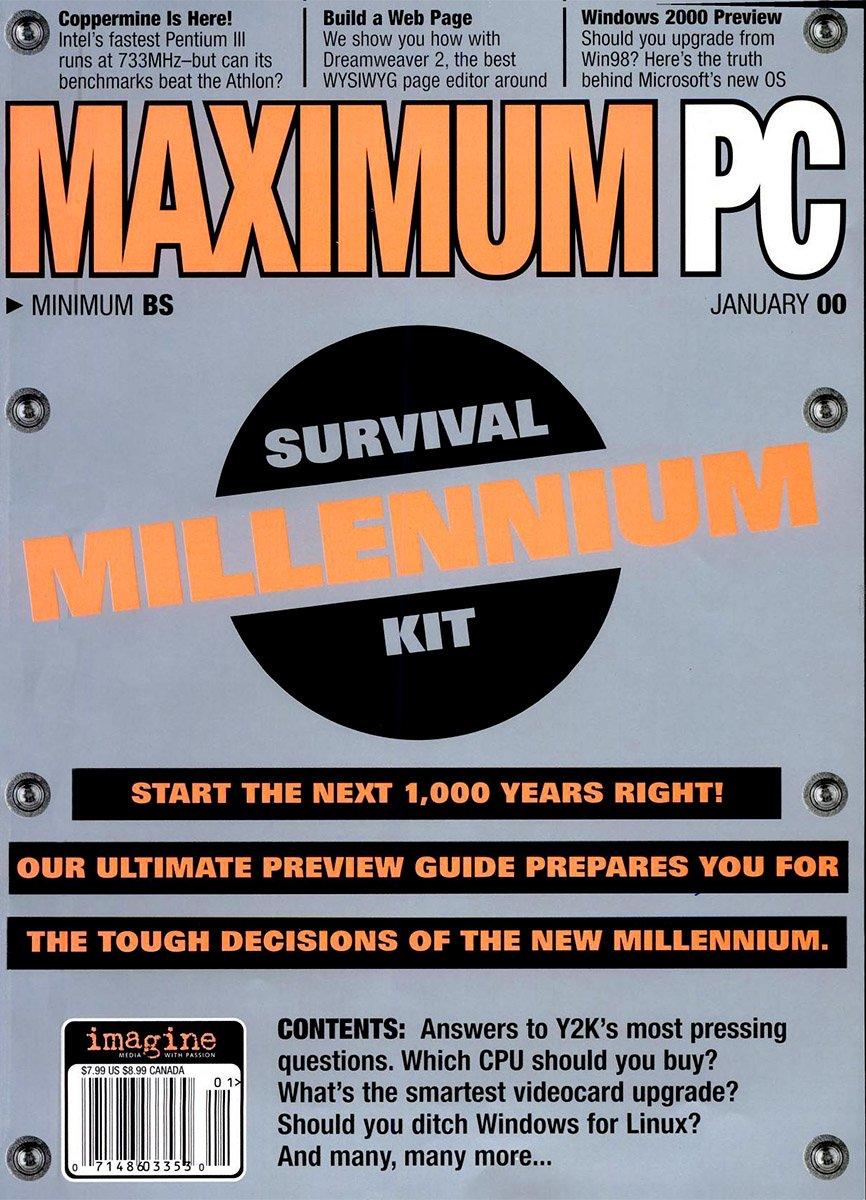 Maximum PC Issue 017 January 2000