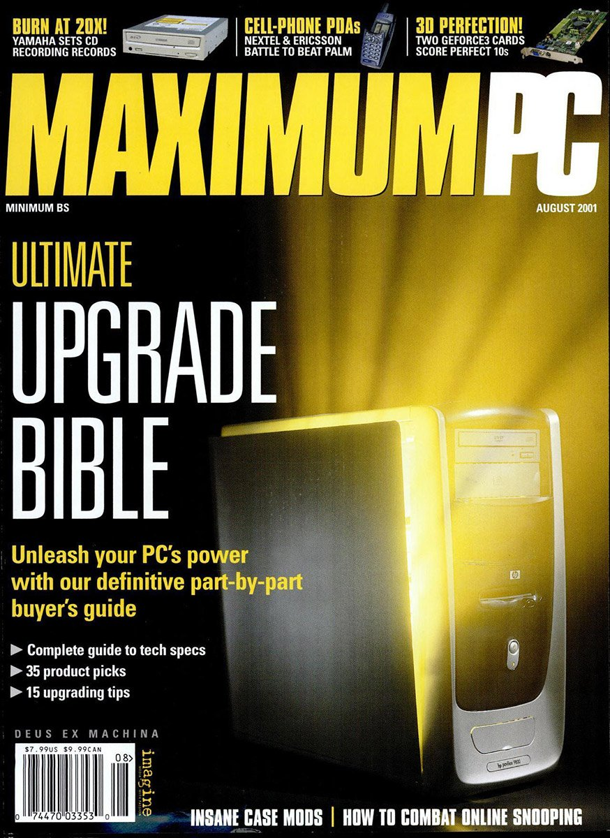 Maximum PC Issue 036 August 2001