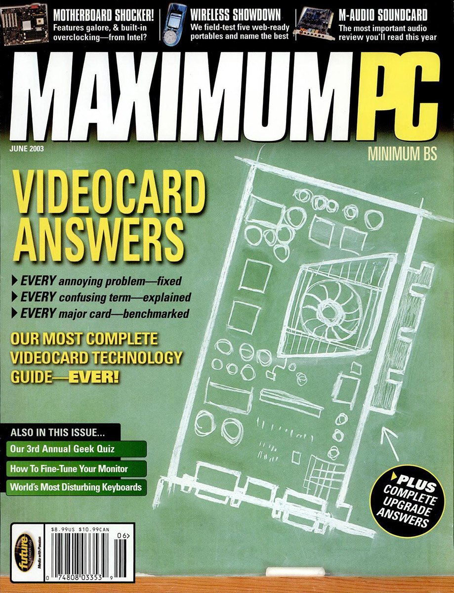 Maximum PC Issue 058 June 2003