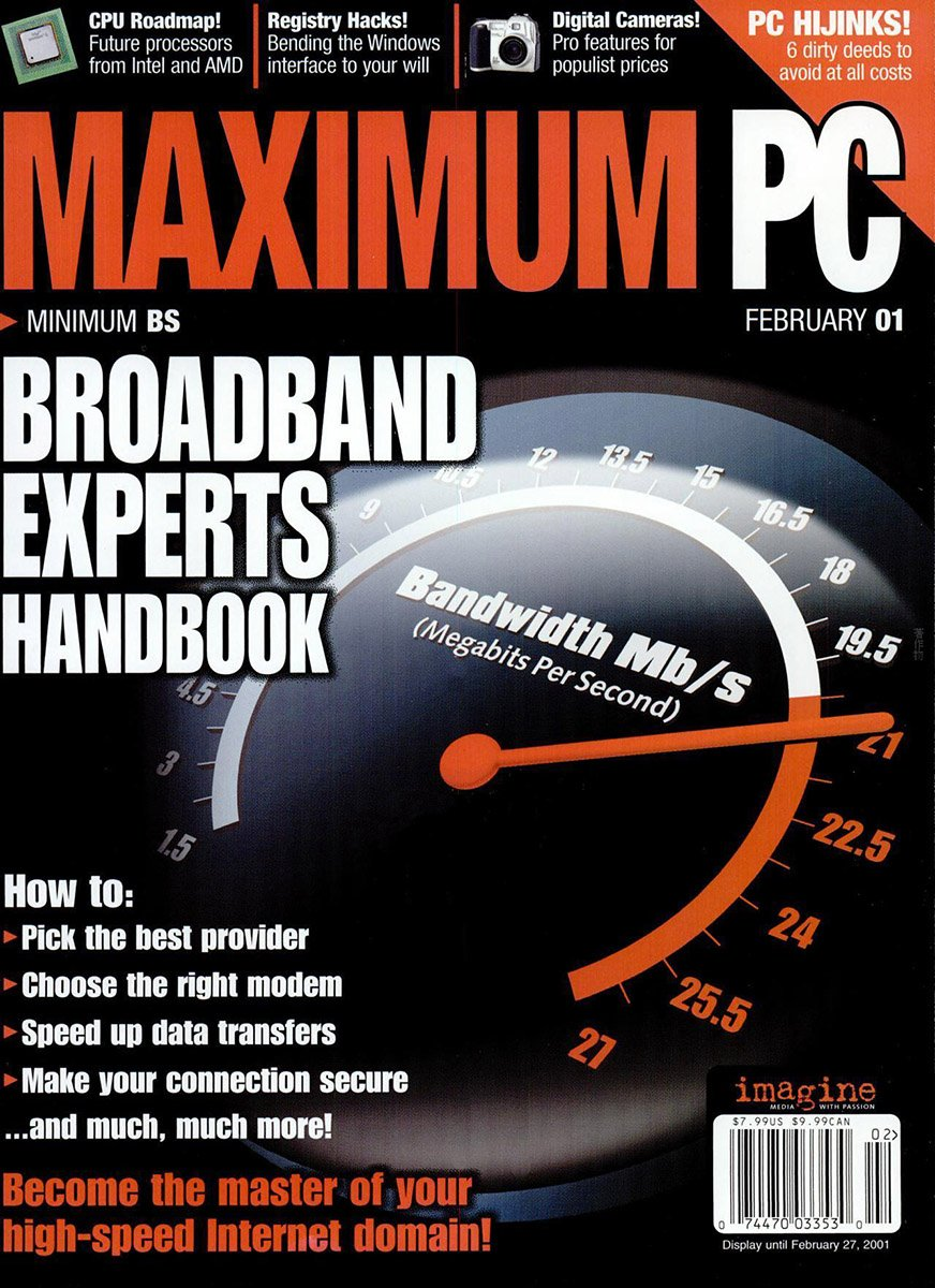 Maximum PC Issue 030 February 2001